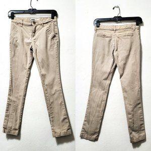 Old Navy Girls Sz 12 Khaki Skinny Jeans